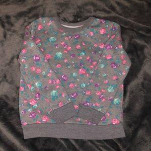 4T Floral Sweatshirt